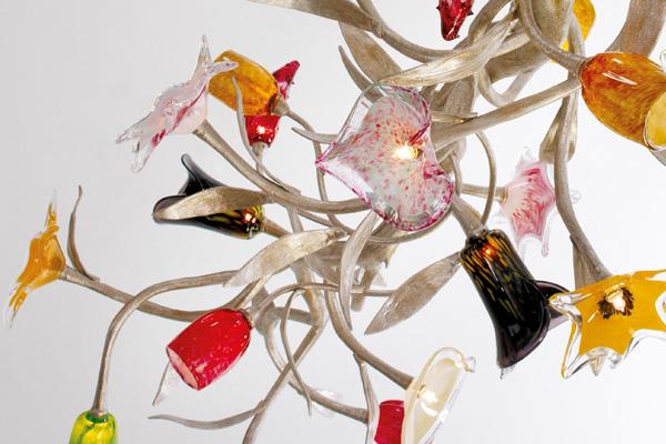 Stout Verlichting Collectie Sfeerfoto Flower