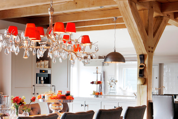 Stout Verlichting Project private residence Stolwijk sfeerfoto