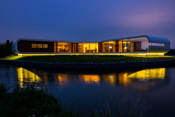 Stout Verlichting Project private residence sfeerfoto