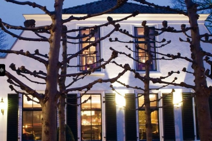 Stout Verlichting Project restaurant Loenen 't Amsterdammertje sfeerfoto